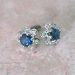 blue-sapph-dia-cluster-earrings