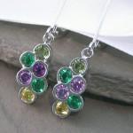 newkir birthstone earrings