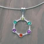 newrkir family circle pendant
